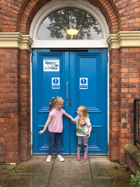 End of an era: Lucy leaves nursery