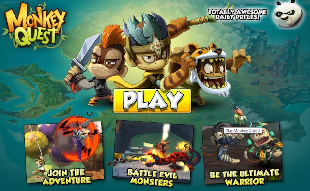 Play Monkey Quest Part 9
