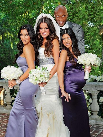 Kardashian Wedding Khloe And Lamar Wedding Bells