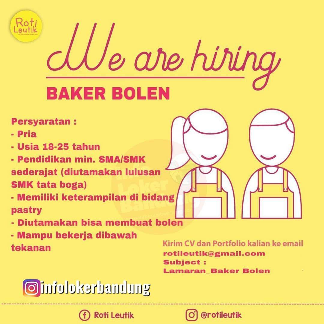 Lowongan Kerja Roti Leutik Bandung September 2019