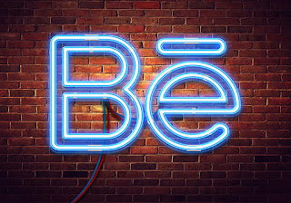 neon sign be