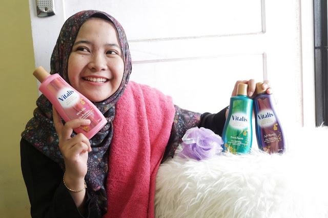 Pengalaman Mandi Parfum dengan Vitalis Perfumed Moisturizing Body Wash