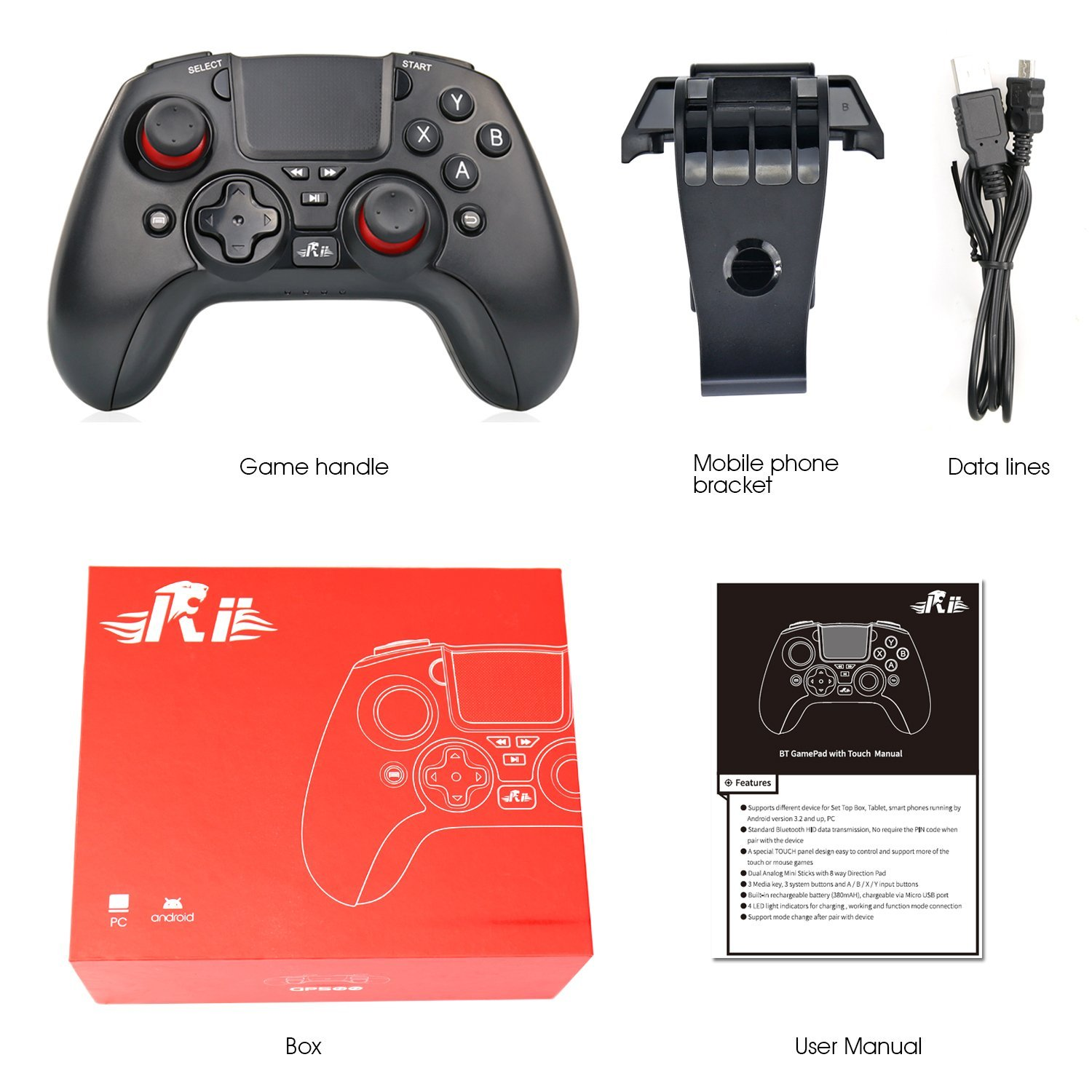 Android Assessed: A New Player in the Gamepad Game - Rii Wireless