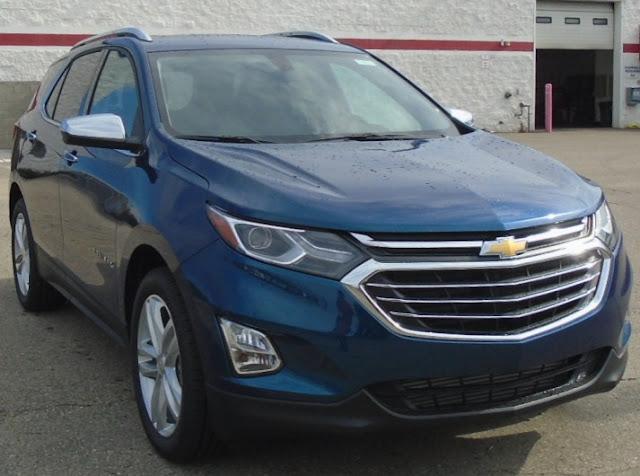 2019 Chevrolet Equinox Premier Interior Colors