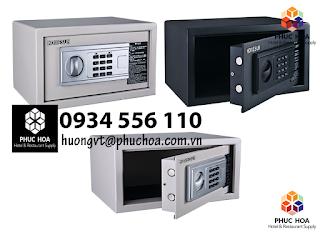 Top 3+ mẫu két sắt điện tử mini homesun cho khách sạn