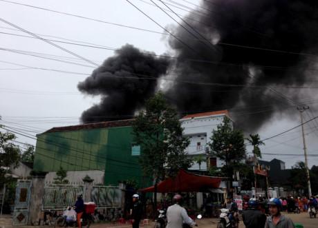 Hai vụ cháy trong buổi sáng cuối tuần ở Quảng Ngãi