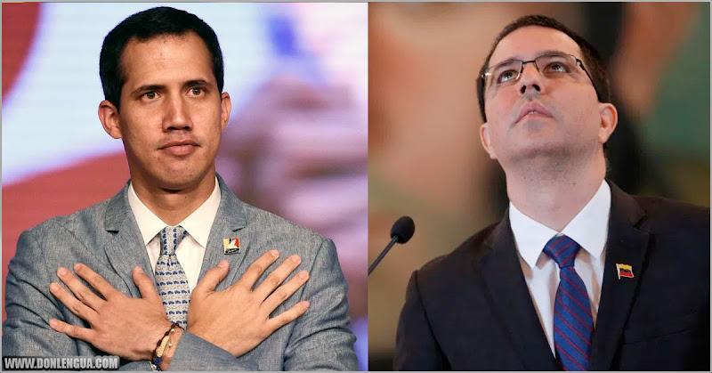 Jorge Arreaza feliz por el acuerdo firmado entre Maduro y Juan Guaidó
