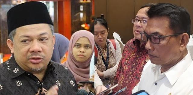 Biar Berkualitas, Jubir Prabowo Usul Fahri Hamzah Gantikan Moeldoko Di Istana