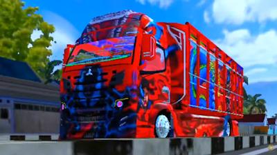 MOD Truck Kontes Tebaru 2021