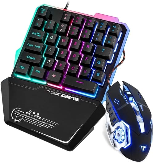 Review Ippinkan one Handed Gaming Keyboard and Mouse