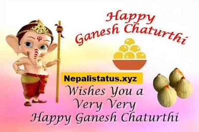 New Happy Ganesh Chaturthi Special Status or Shayari in Hindi
