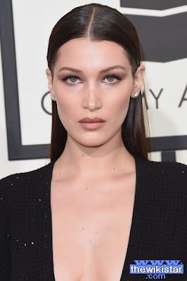 The life story of Bella Hadid, a Palestinian model, born in 1996 .