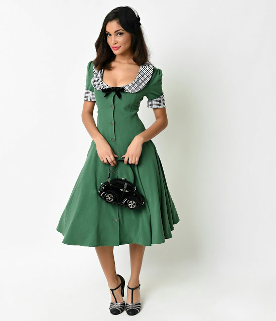 19 centuries top stylish Cleric swing dress