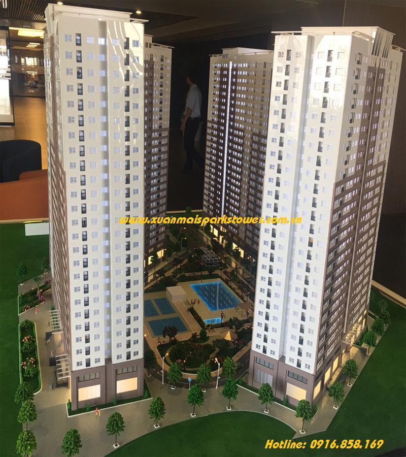 phoi canh toa KL FGH xuan mai sparks tower