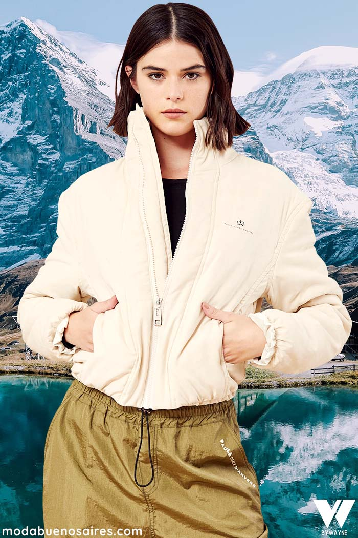camperas de corderito moda invierno 2021 mujer