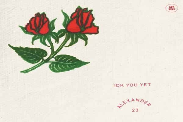 Lirik Lagu Alexander 23 IDK You Yet dan Terjemahan