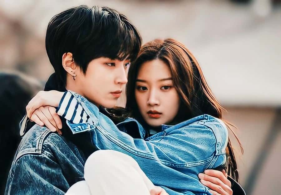 kdrama true beauty sad couple pic