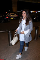 Neha Dhupia in Shirt Denim Spotted at Airport IMG 3533.JPG