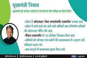 [Registration] कौशल योजना पोर्टल 2020 राजस्थान प्रवासी श्रमिक रोजगार योजना