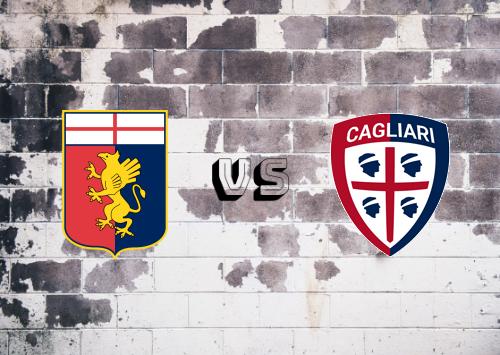 Genoa vs Cagliari  Resumen