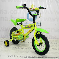 Sepeda Anak Wimcycle Minions 12 Inci Lisensi