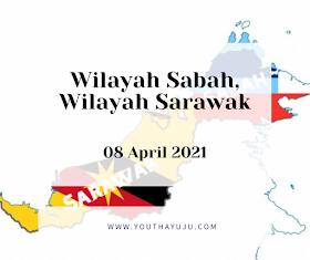 WILAYAH SABAH, WILAYAH SARAWAK: PERTUKARAN TERMA PANGGILAN SABAH & SARAWAK SERTA MERTA