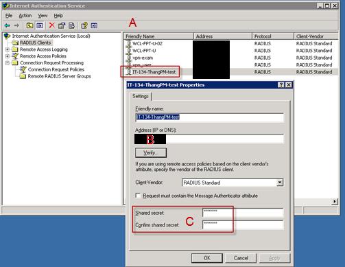 P A N | S P A C E: : 02 Free Radius test tool - NTRadPing