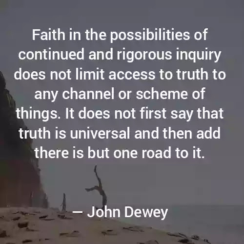 John Dewey Best sayings