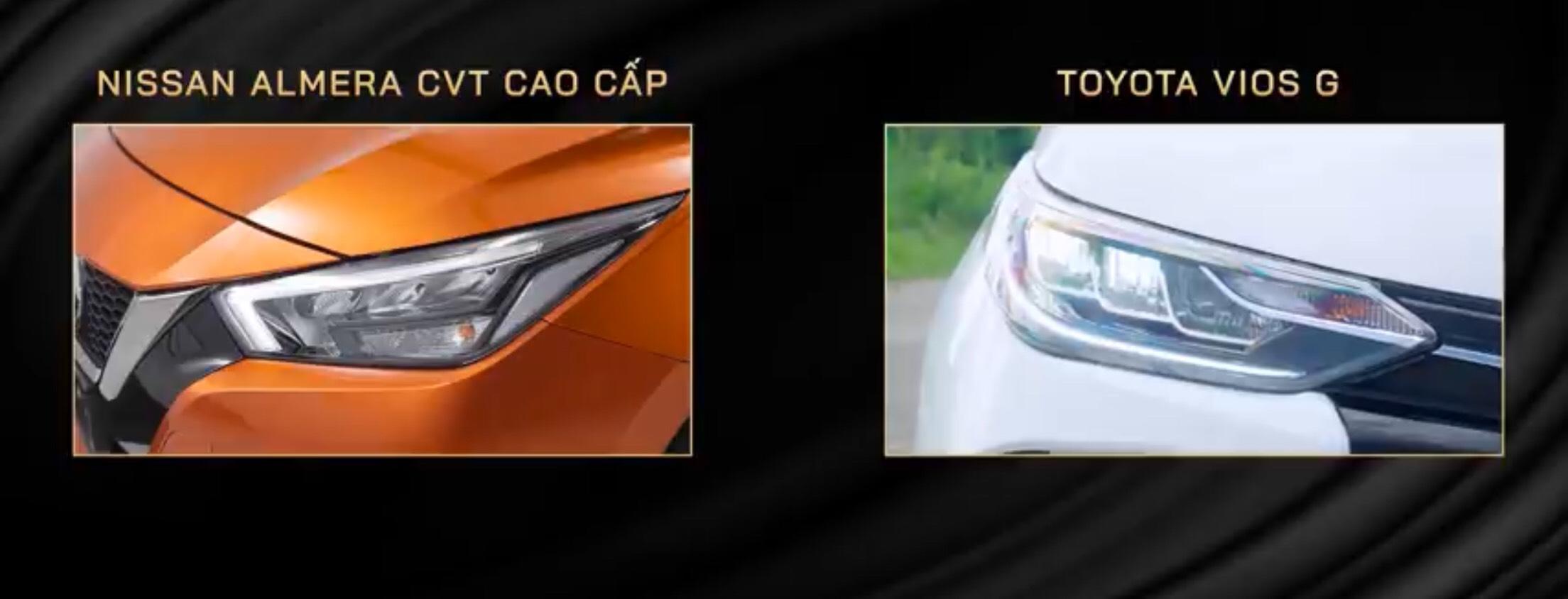 So sánh Toyota Vios và Nissan Almera 2021 về giá bán, trang bị tiện ích. 10