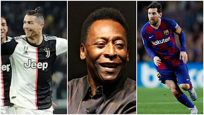'Ronaldo Is Better Than Messi, But I'm The Best' - Brazil Legend Pele