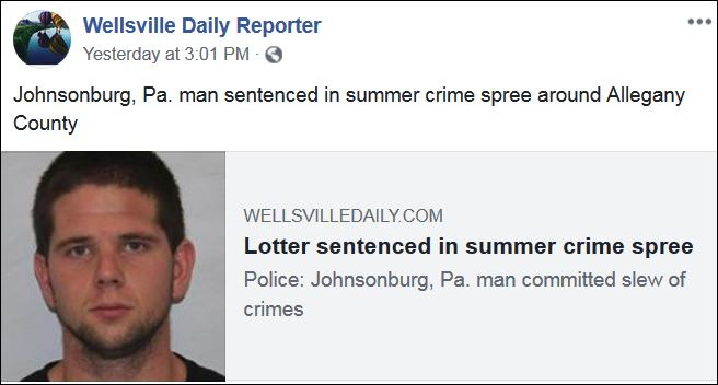 https://l.facebook.com/l.php?u=http%3A%2F%2Fwww.wellsvilledaily.com%2Fnews%2F20181213%2Flotter-sentenced-in-summer-crime-spree%3Ffbclid%3DIwAR2pUv_ad1qh-4QraWOSQ7pSvtD0I-YZay6As6BtC8AE-RwBal4XBS5Bzo8&h=AT1XOpXIro1afvtNRm56KKZQRn1leW9W9AyhDWgHZMwmlVYlaa86MIKrTxuxRe0XrSUtPCdtqaj4jm1JUdL3Manb5hEOf_uZJQmlwXOO_R9Jd5MgXmmsVdKMddd0PatDI5wckgrkxV5Pn3F-BeQOqp7h1e_89DIJM5xStah3HENHZA4--IElNkU8AAaUhrTkFpQsIo3Q5aLEySjvhxEEOJ-QIOVFkYf0rfN9F4PBil4N8F2xHvUpyLXRDGDoxda0g9VwTk7nLaGccyD9FhaVNR1O-2xbEVRUJGykf3yrVST8GkU74PmDbTAZZ5nQG0gUiuUae_yVhmjySWy_xFd2k_mEJFssdOoJo-5k2MF9_xK9UZqZDorakGomyQcon1LBO16RPoM8pRaqzjgeDcPDJ-ej-VrNJ_wQDNeFN8ZY7sEyrJ91ncJzvQDHBVnDvocYd967Rg_fv9OqYoLuCmnTirxJD9hwxkdUTwFVuWsBy1k3YQJmIRm1x_vtw-WKQAdcsrV2h-2cKWIh_5w9Lo4zgO-PhB10ynZoOpP-bQ-ttTWdAEY2_kvRZVQMZSPD_J999y1Nr8Cfb1Ykezjndg-UGP-IXMCjWrsn1brnitKx8lCTIlipNQFBLMkKojTzrAnUJTs