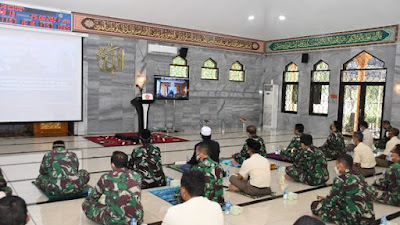 Panglima TNI : Tingkatkan Nilai-Nilai Spiritual Dalam Kehidupan Sehari-hari Guna Menunjang Pelaksanaan Tugas