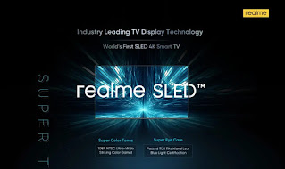 Realme announces the world's first 55-inch SLED smart TV