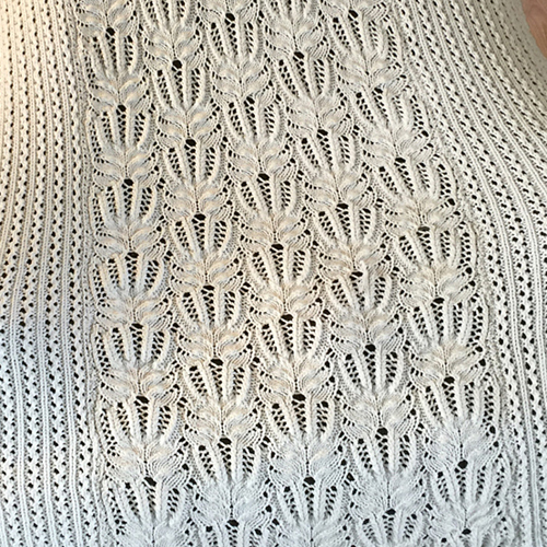 Frost Flower Lace Afghan - Free Pattern