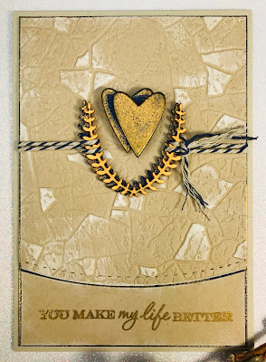 embossing, masculine card, Stampin Up, Art with Heart, blog hop, Andrea Sargent, AWHT