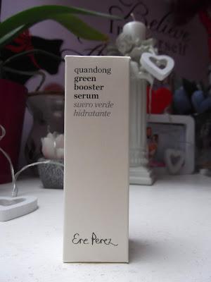 Zelené povzbudzujúce sérum  Ere Perez