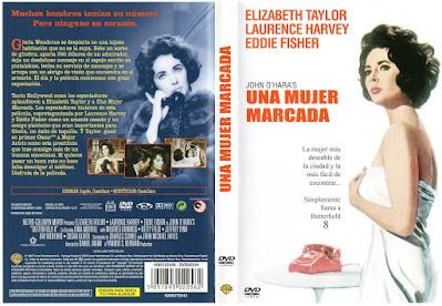Carátula dvd: Una mujer marcada 1960