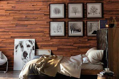 Paneles de madera decorativos de Imitación - muros sinteticos | Decomur