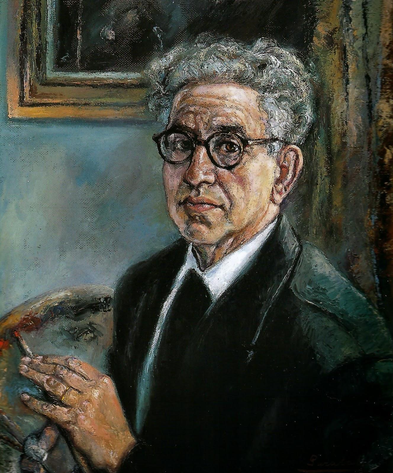 Manuel López Garabal, Pintores Realistas Españoles, Galería de retratos figurativos, Autorretrato, Pintor español, Pintor Manuel López Garabal