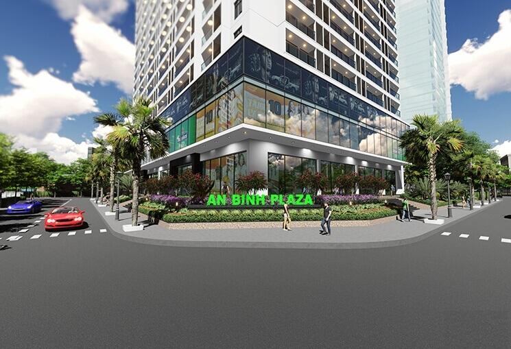 Vị trí kết nối từ dự án An Bình Plaza – Trần Bình !