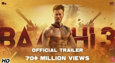 Baaghi 3 Full Movie Download Mp4 HD By Tamilrockers, Movierulz, Filmywap