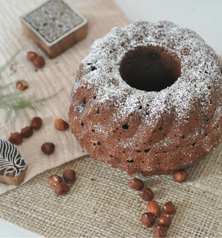 glutenfree Chocolate-Hazelnut-Cake