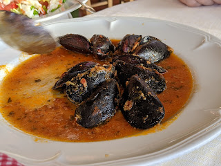Stuffed mussels - Locanda Lorena (Portovenere)
