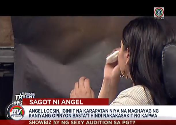 Angel Locsin's Remarks On The Sexy PGT Act Became A Hot Topic Online