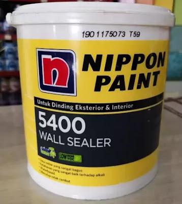 Cat Dasar Tembok Nippon Paint 5400 Wall Sealer