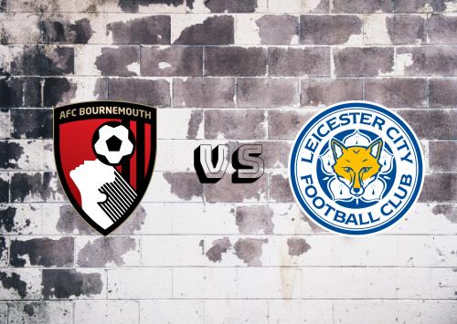 AFC Bournemouth vs Leicester City  Resumen