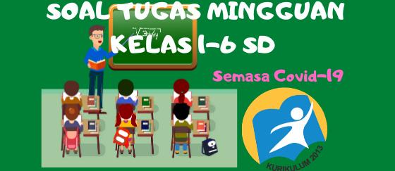 Soal Tugas Harian Kelas 1-6 Tema 1 SD Kurikulum 2013
