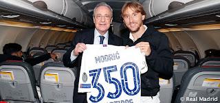 Luka Modric suma y sigue vestido de blanco