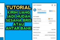 Cara Transfer Uang Lewat BRI Syariah - BRIS Online