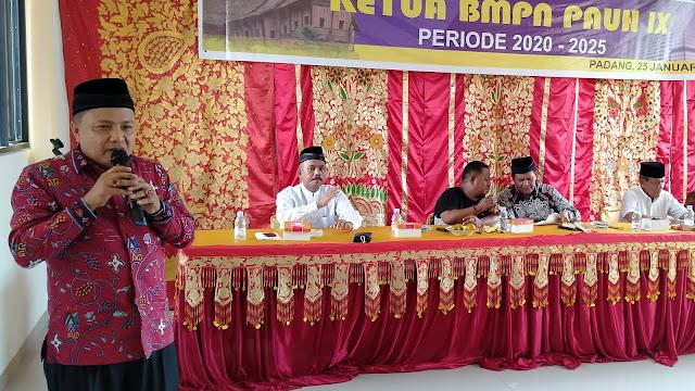 Terpilih Sebagai Ketua BMPN, Ini yang Akan Dilakukan M Fikar Datuk Rajo Magek